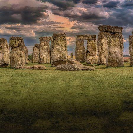 Stonehenge near Salisbury, U.K.